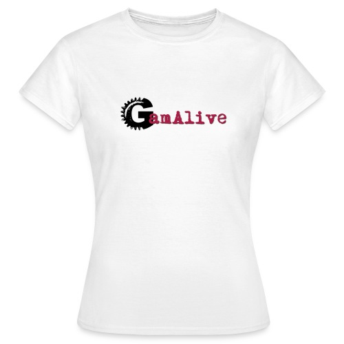 GamAlive coul Def PNG png - T-shirt Femme