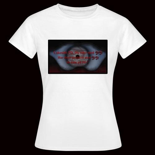Lakeside PD, Du taler med DD! - Dame-T-shirt