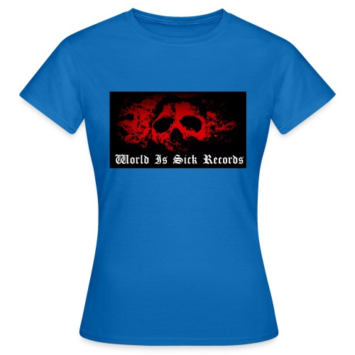 World Is Sick Skull Huppari - Naisten t-paita