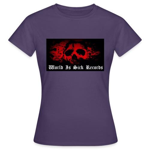 World Is Sick Skull Huppari - Naisten t-paita