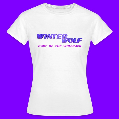 WINTERWOLF LOGO Part of The Wolfpack T-shirt - Vrouwen T-shirt