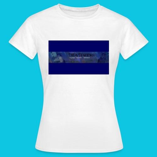 buismat bleu - Vrouwen T-shirt