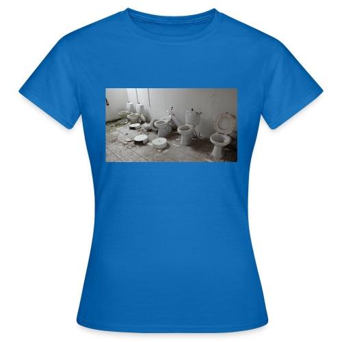 Toilets - Dame-T-shirt