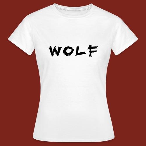 Wolf Font png - Vrouwen T-shirt