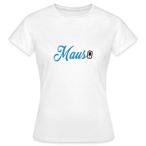 Hoesje MAUS 8Bit Blauw - Vrouwen T-shirt