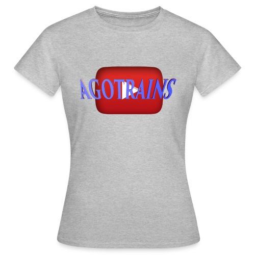 AGOTRAINS - Maglietta da donna