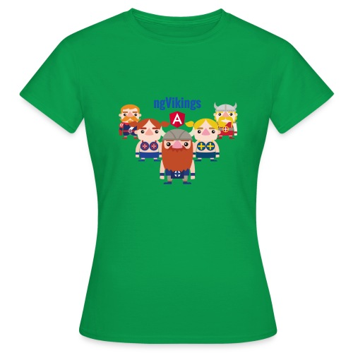 Viking Friends - Women's T-Shirt