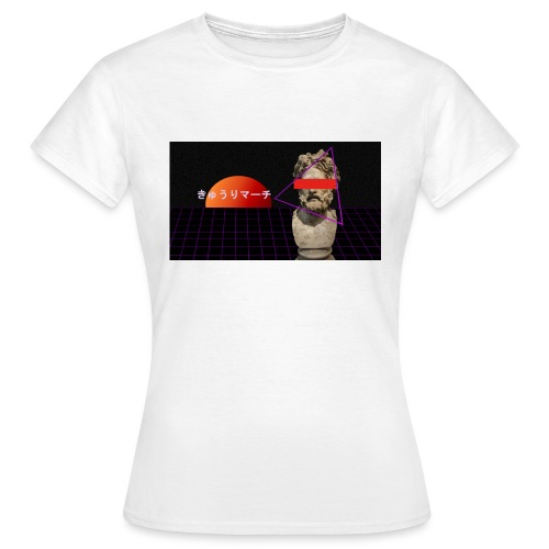 augrk a e s t h e t i c - T-skjorte for kvinner