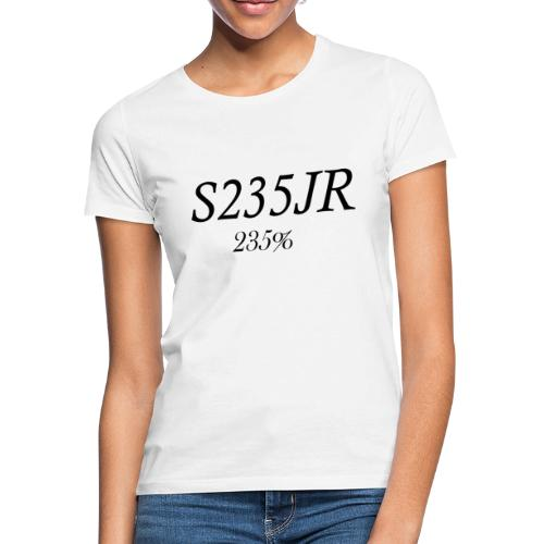 S235JR-Black - Frauen T-Shirt