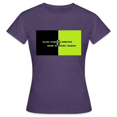 Channel_Art_Template_ufo_youtube_pt_4 - Maglietta da donna