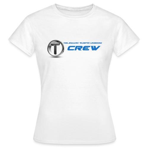 TRU CREW - T-skjorte for kvinner