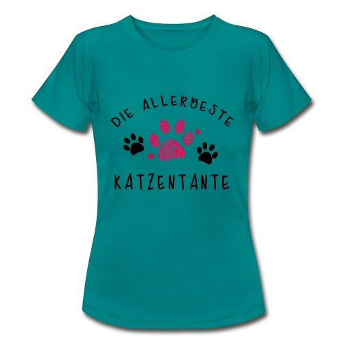 Die allerbeste Katzentante - Frauen T-Shirt