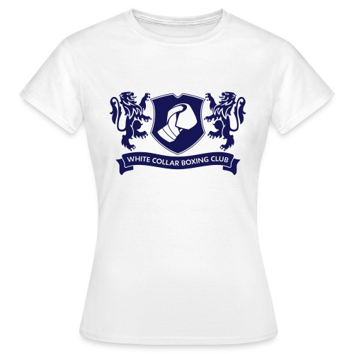 White Collar Boxing Hoodie Classic-Blue - Frauen T-Shirt