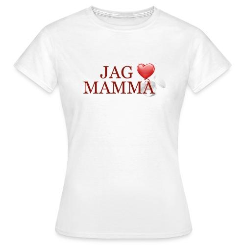 Jag älskar mamma - T-shirt dam
