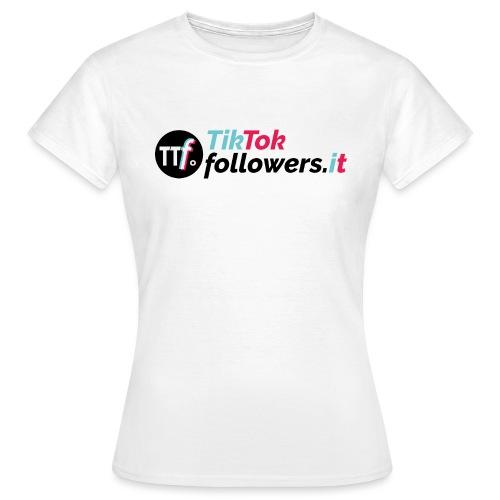 ttfollowers logo - Maglietta da donna