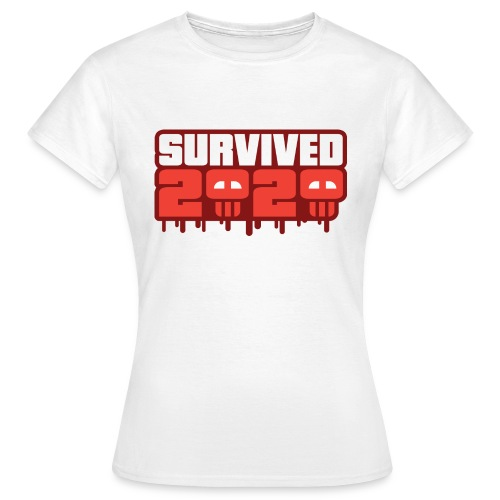 Survived 2020 - Dame-T-shirt