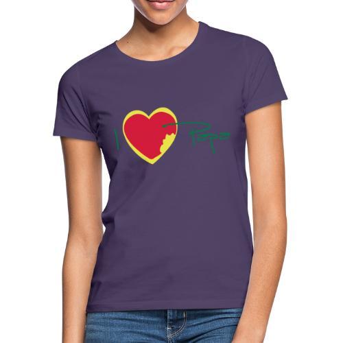 I love papa rastafari - T-shirt Femme