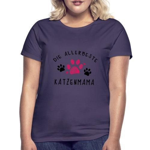 Die allerbeste Katzenmama - Frauen T-Shirt