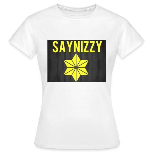 Say nizzy - Women's T-Shirt