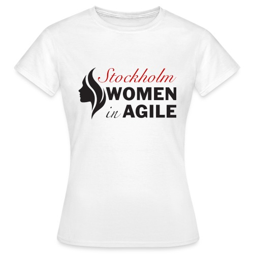 Women In Agile Stockholm - T-shirt dam