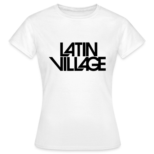 Logo Latin Village 30 - Vrouwen T-shirt