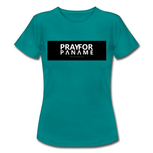 TEE-SHIRT HOMME - PRAY FOR PANAME - T-shirt Femme