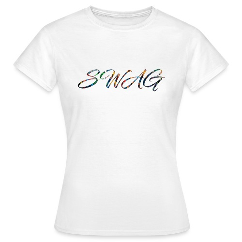 Texte 'Swag' - T-shirt Femme