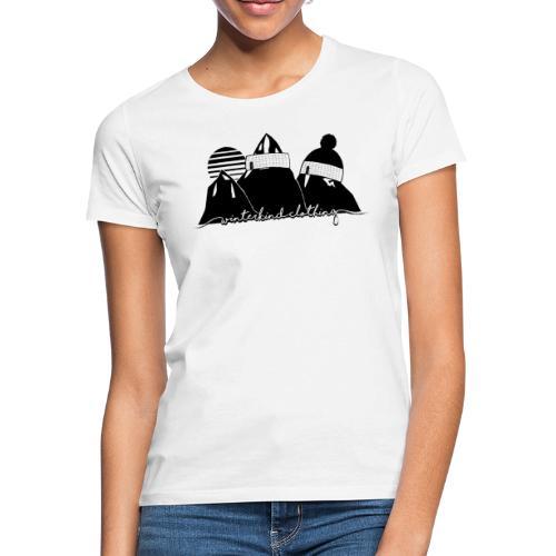 winterkind oldschool sticker - Frauen T-Shirt