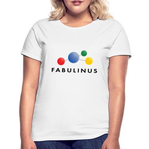 114346920 146346911 Fabulinus Zwart - Vrouwen T-shirt