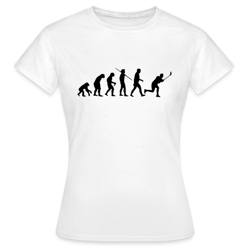 Floorball Evolution Black - Frauen T-Shirt
