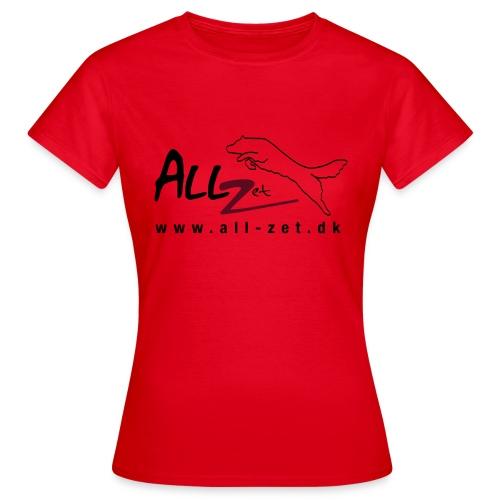 All Zet Logo - Dame-T-shirt