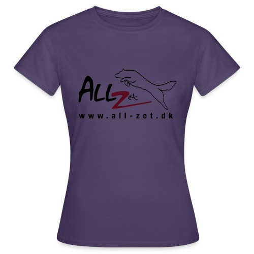All Zet Logo - Dame-T-shirt