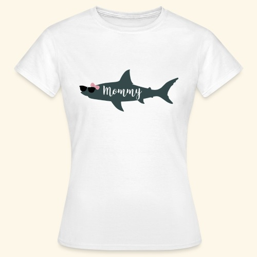 Mommy shark - Camiseta mujer