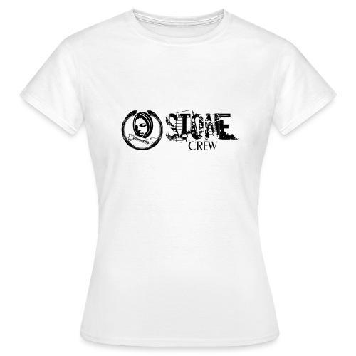 Stone Crew Banner Neu 300dpi schwarz Vector - Frauen T-Shirt