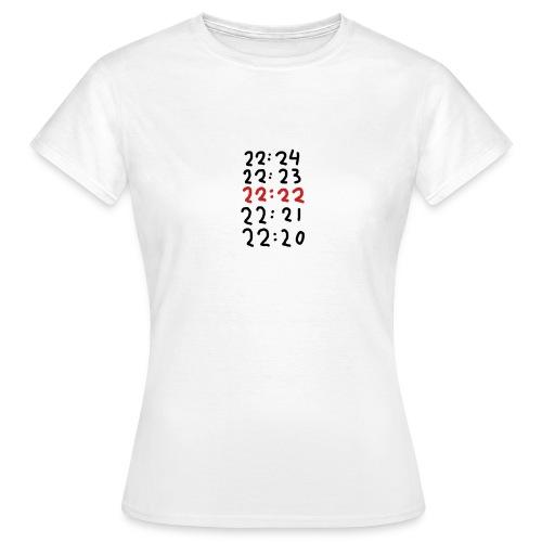 Wacht op de tijd - Vrouwen T-shirt