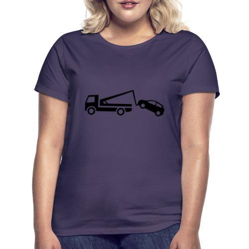 Abschleppwagen - Frauen T-Shirt