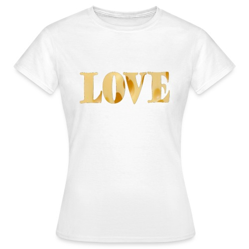 Cheesy love - Women's T-Shirt