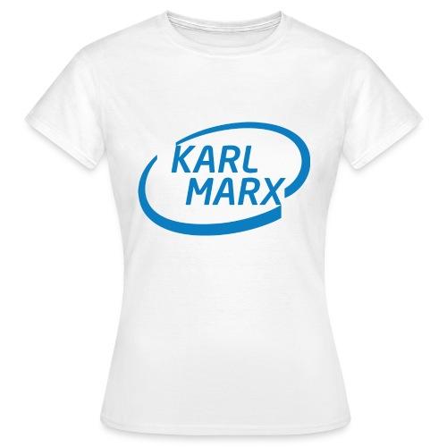 Karl Marx X Intel - Maglietta da donna