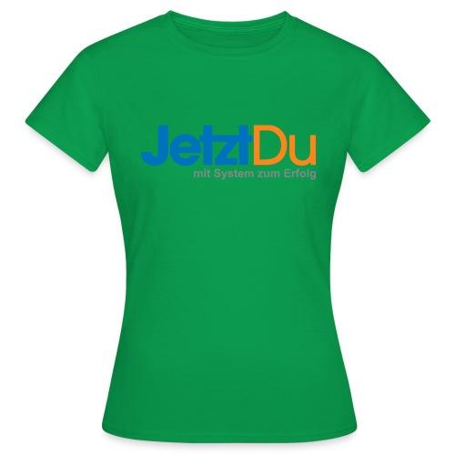 JetztDuLogo ArtWork1 - Frauen T-Shirt