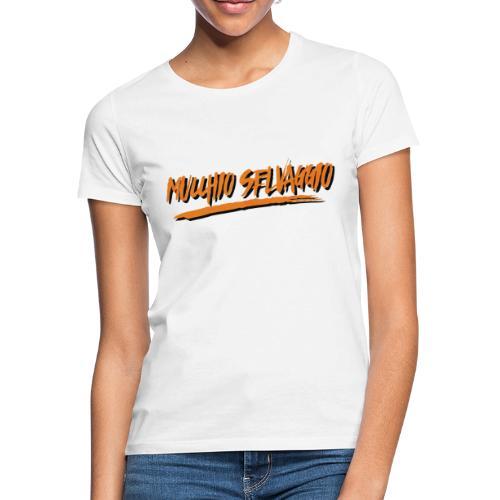 Mucchio Selvaggio 2016 Dirty Orange - Maglietta da donna