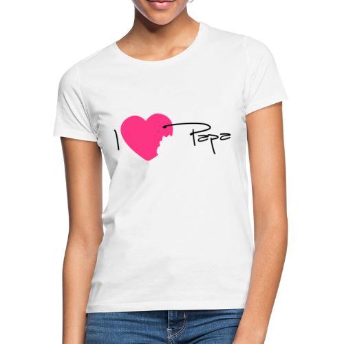 I love Papa 13 Vecto - T-shirt Femme