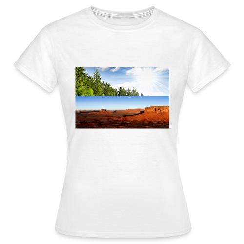 free world - Frauen T-Shirt