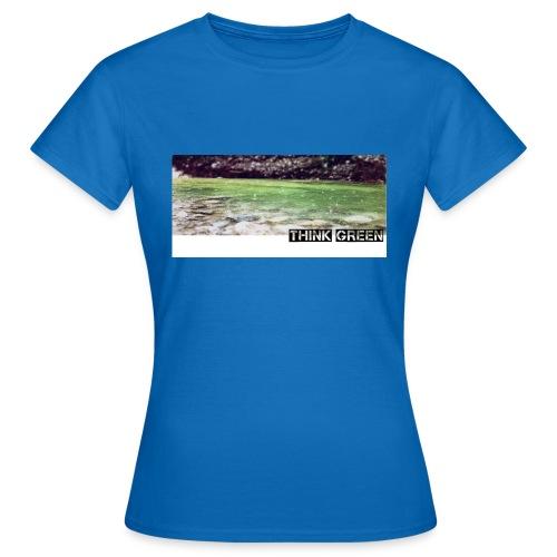 Think green - Frauen T-Shirt