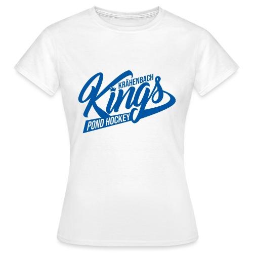 KINGS Logo 2019 einfach blue - Frauen T-Shirt