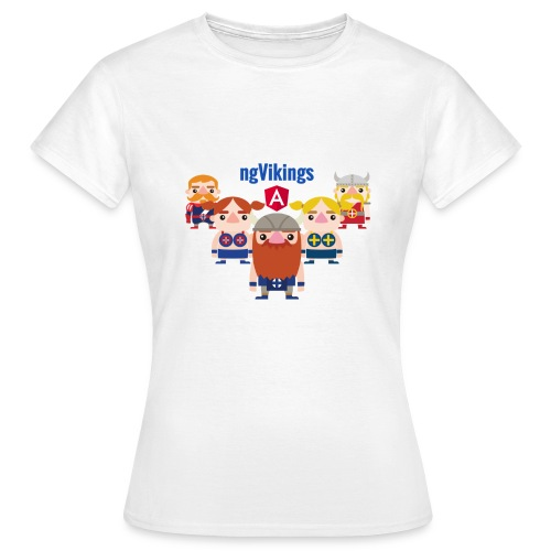 Viking Friends - Women's T-Shirt