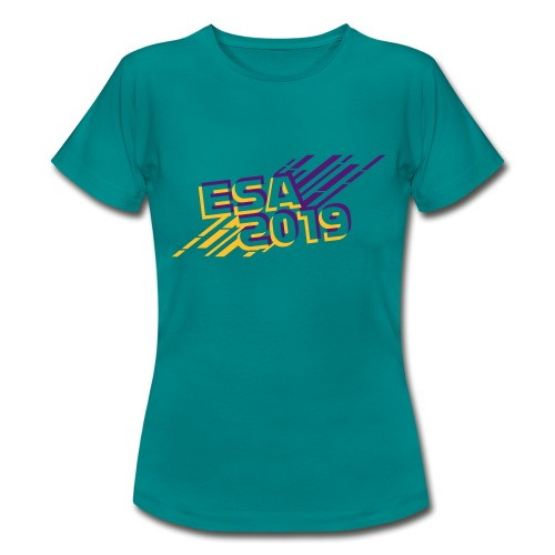 ESA 2019 - Summer Gold and Purple - Women's T-Shirt