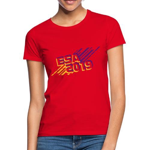 ESA 2019 - Summer Gold and Purple - Women's T-Shirt