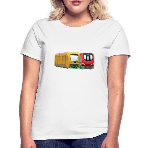 transparent NOGA09 logga - T-shirt dam