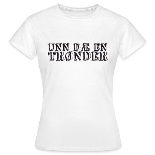 unndae - T-skjorte for kvinner