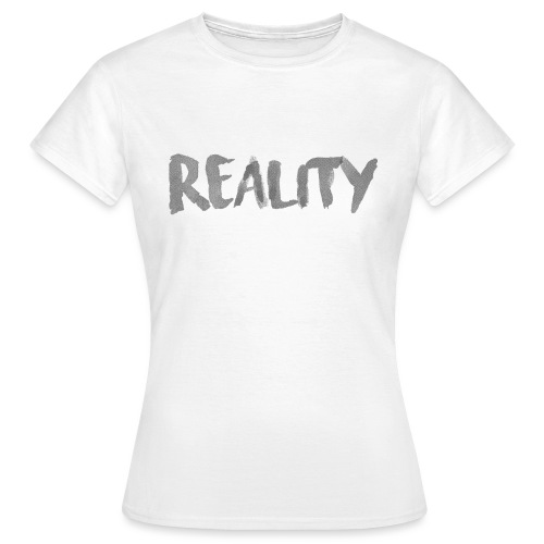 White_REALITY - T-shirt Femme